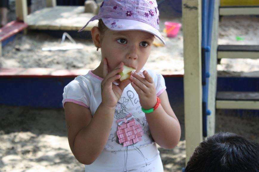 Днепропетровские активисты Оппозиционного блока провели праздник Медового Спаса для детей (фото) - фото 6