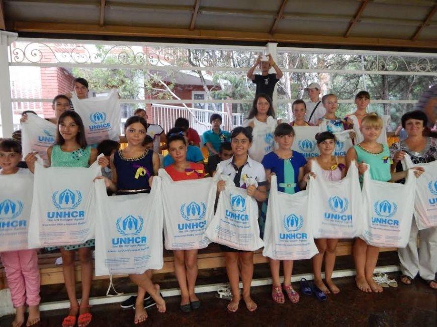 В Урзуфе дети из обстреливаемых сел смогли забыть о войне (ФОТО) (фото) - фото 1