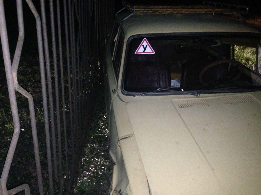 ДТП в Днепропетровске: «Копейка» врезалась в дерево (фото) - фото 1