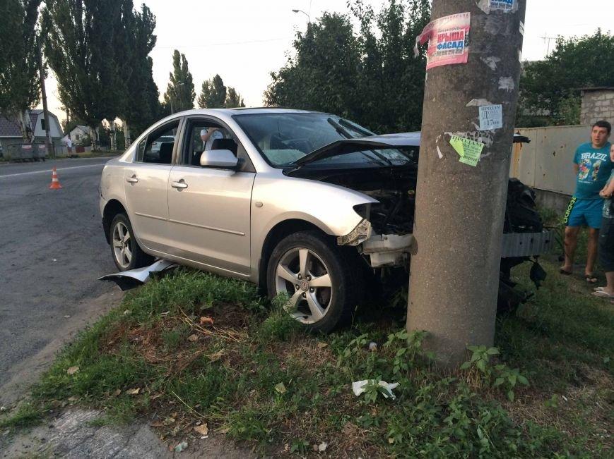 ДТП в Днепропетровске: столкнулись Mazda и BMW (ФОТО) (фото) - фото 1