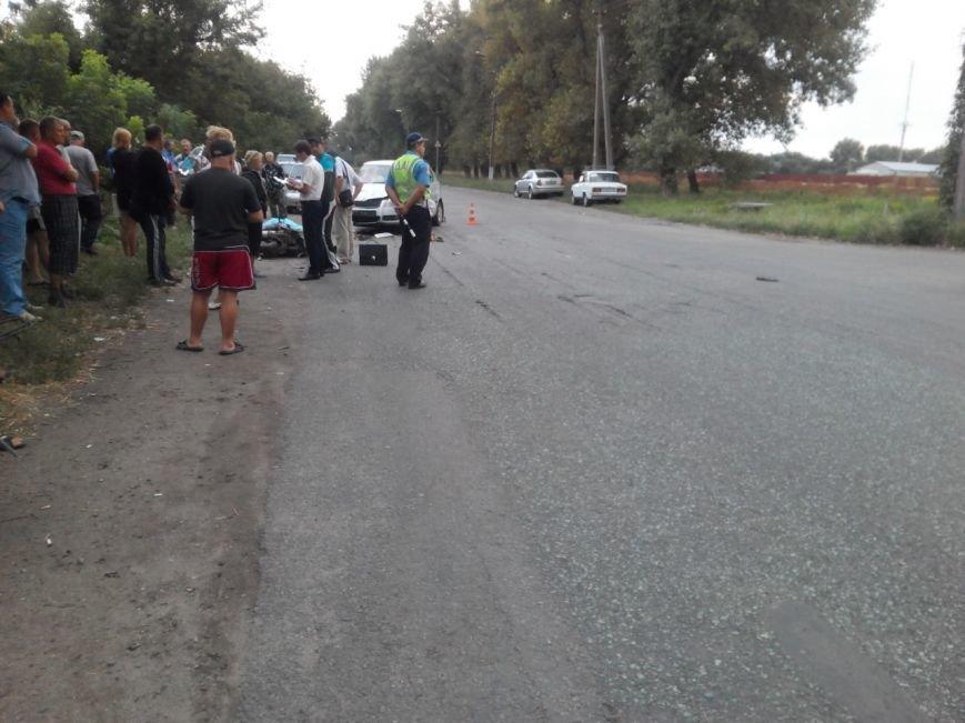 Смертельное ДТП на Днепропетровщине: столкнулись YAMAXA и SKODA-FABIA, фото-3