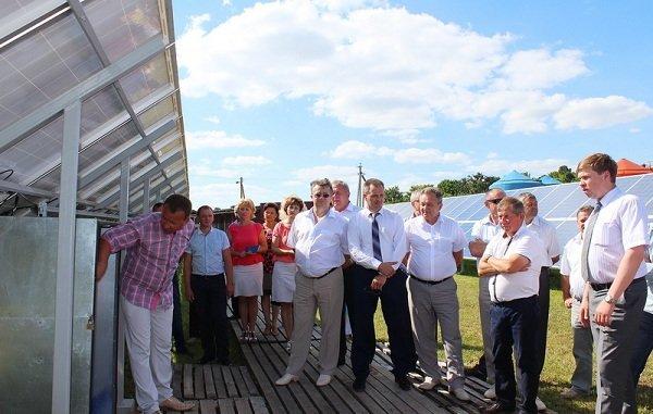 В Щучинском районе запустили электростанцию на солнечных батареях (фото) - фото 2