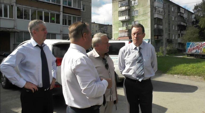 Областные чиновники провели проверку полевских дорог (фото) - фото 1