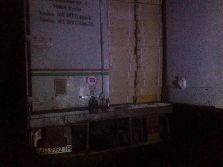 До «ДНР» не доехал грузовик с 7 тоннами продуктов (ФОТО) (фото) - фото 1