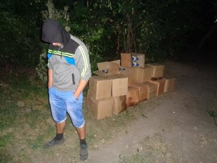 За сутки из РФ на территорию Сумщины хотели переправить 650 литров спирта (ФОТО) (фото) - фото 1