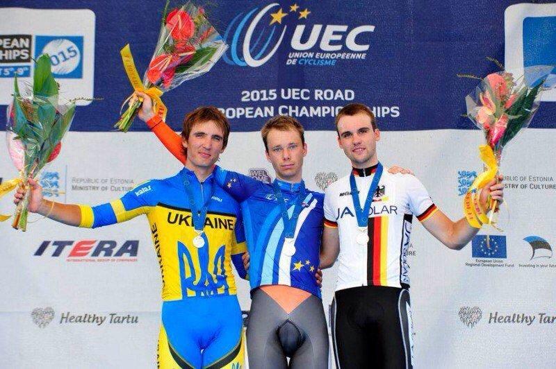 Николаевец выиграл «серебро» на чемпионате Европы по велоспорту (ФОТО), фото-1