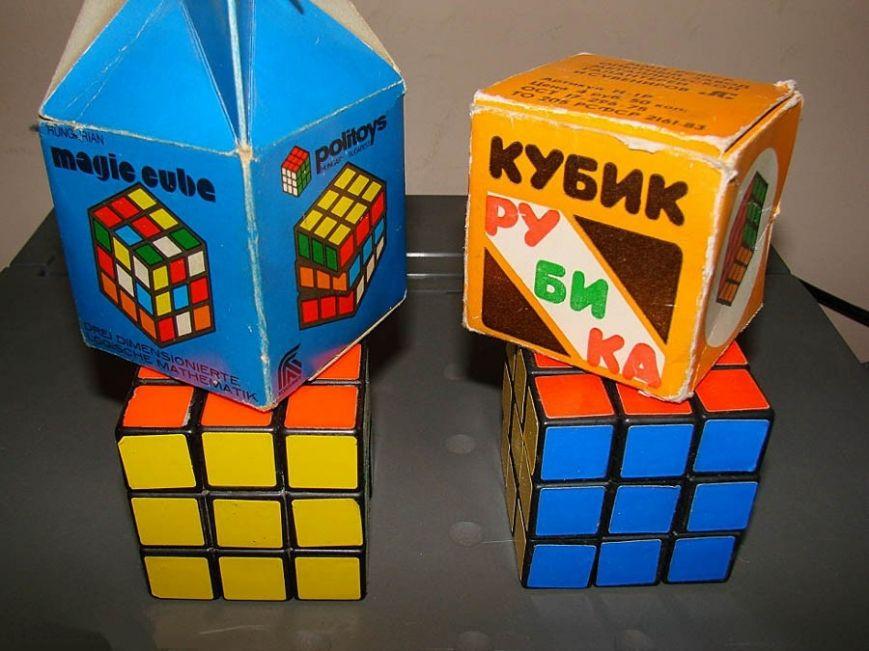 Как изменился кубик Рубика за 35 лет