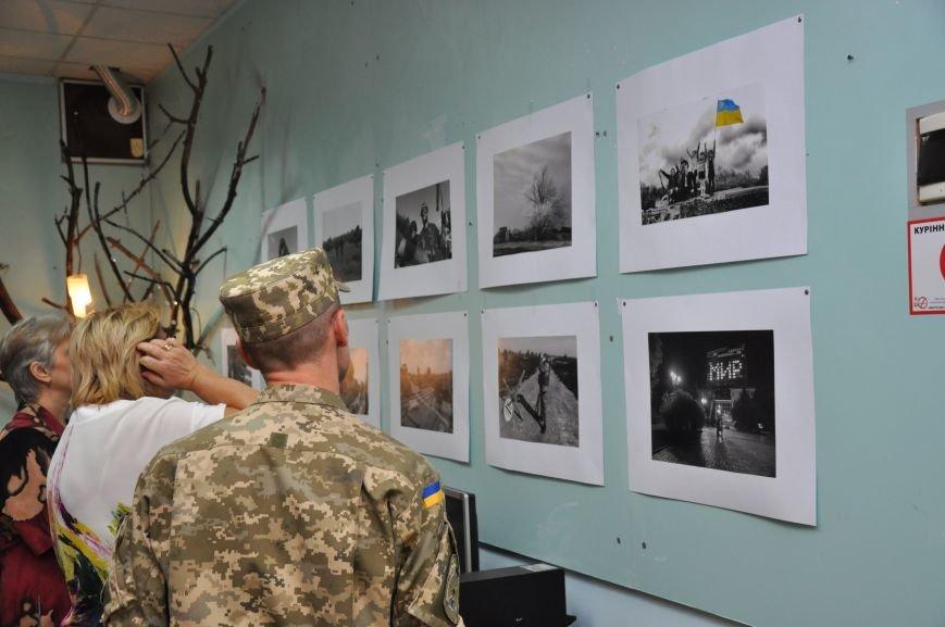 Открывшаяся в Краматорске выставка «Лицо войны» побывает во многих европейских странах, фото-9