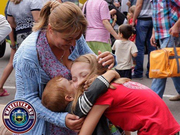 В Макеевку после оздоровления в Крыму вернулись 96 детей (фото) - фото 1