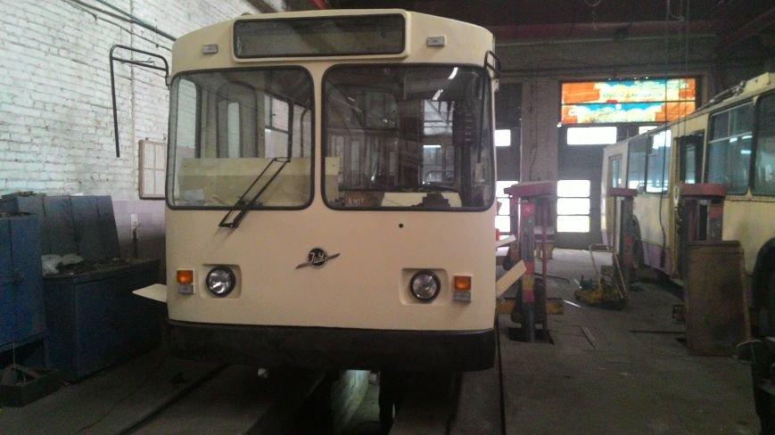 В Кировограде отреставрировали седьмой троллейбус., фото-14