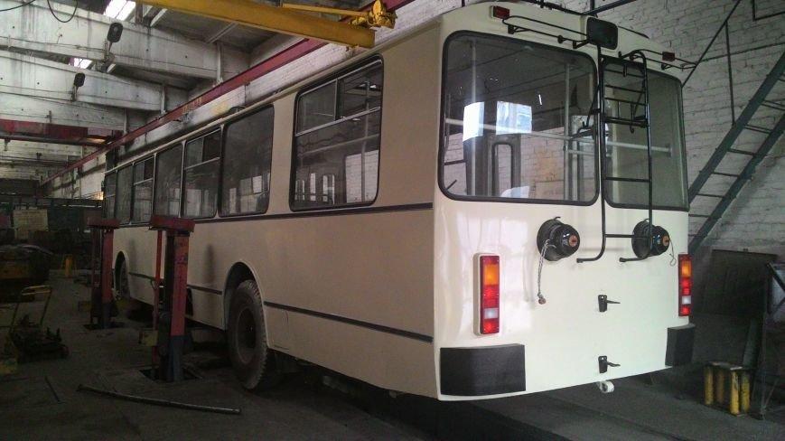 В Кировограде отреставрировали седьмой троллейбус., фото-16