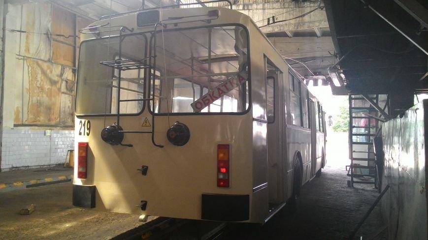 В Кировограде отреставрировали седьмой троллейбус., фото-17