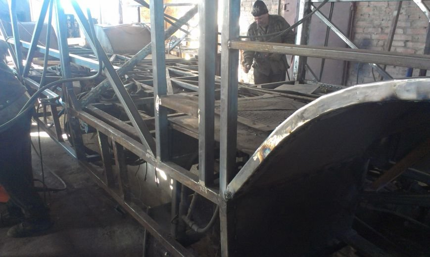 В Кировограде отреставрировали седьмой троллейбус. ФОТО (фото) - фото 1