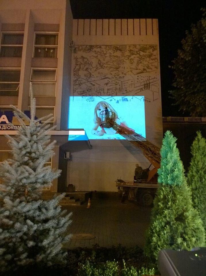 У центрі Вінниці на будівлі з'явився ще один масштабний малюнок (Фото), фото-3