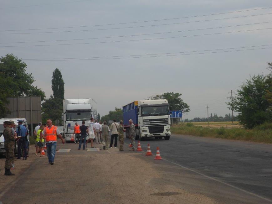 «Бунтующие» водители вывели из строя весы на въезде в Николаев (ДОКУМЕНТ, ФОТО), фото-3