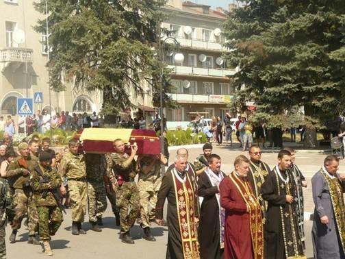 Сьогодні на Прикарпатті поховають загиблого у АТО земляка (ФОТО) (фото) - фото 1
