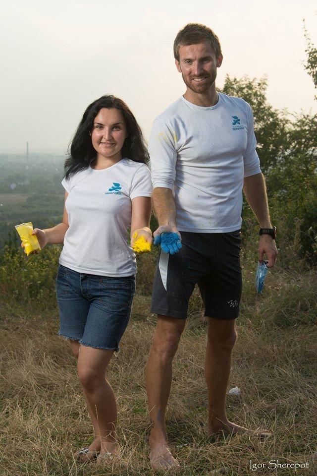 Франківців запрошують пробігти 3 км та підкидати у небо жовто-блакитні фарби (ФОТО) (фото) - фото 1
