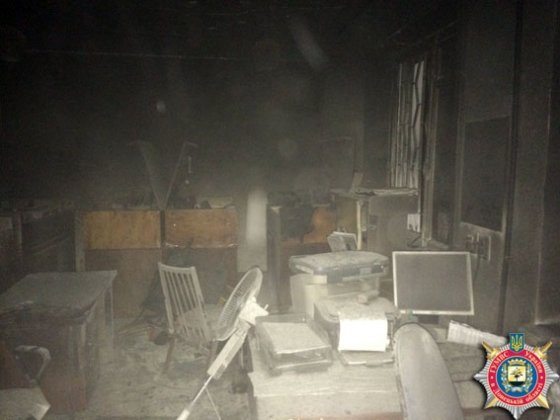 В Красноармейске неизвестные подожгли военкомат (фото) - фото 1