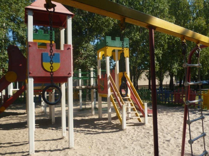В Кривом Роге реконструировали за бюджетные средства детские площадки и «триумфальные арки» (ФОТО) (фото) - фото 4