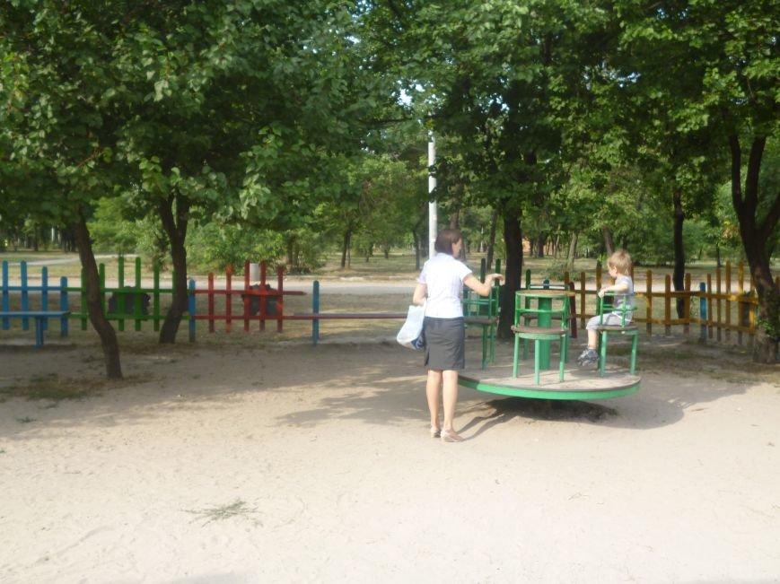 В Кривом Роге реконструировали за бюджетные средства детские площадки и «триумфальные арки» (ФОТО) (фото) - фото 2