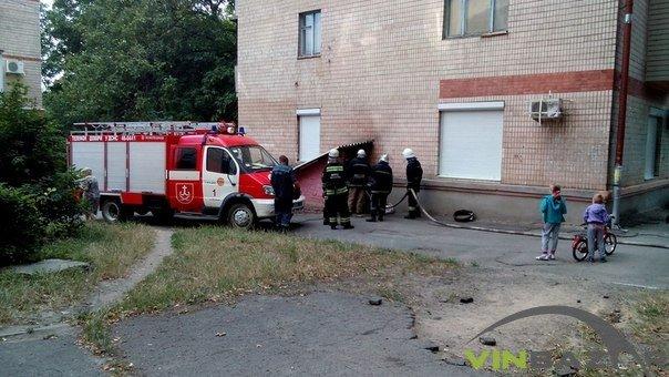 Пожежа біля ресторану «Сіті» у Вінниці, люди кажуть - підпал (Фото+Відео), фото-2