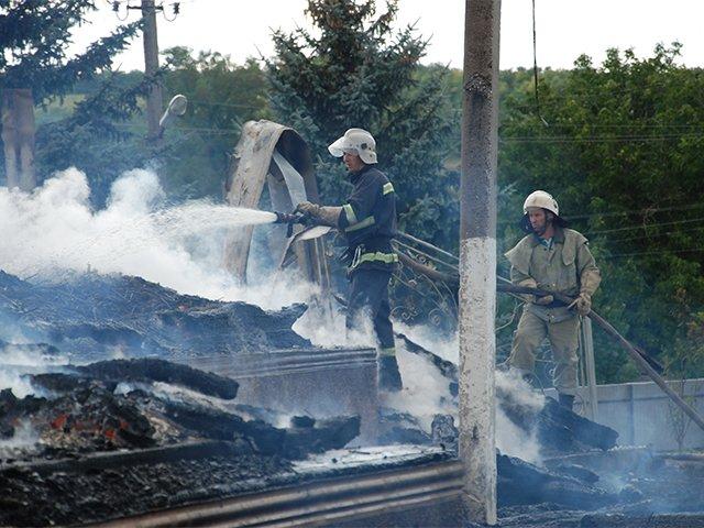 Церковь на Николаевщине сгорела дотла после торжественного богослужения (ФОТО) (фото) - фото 4