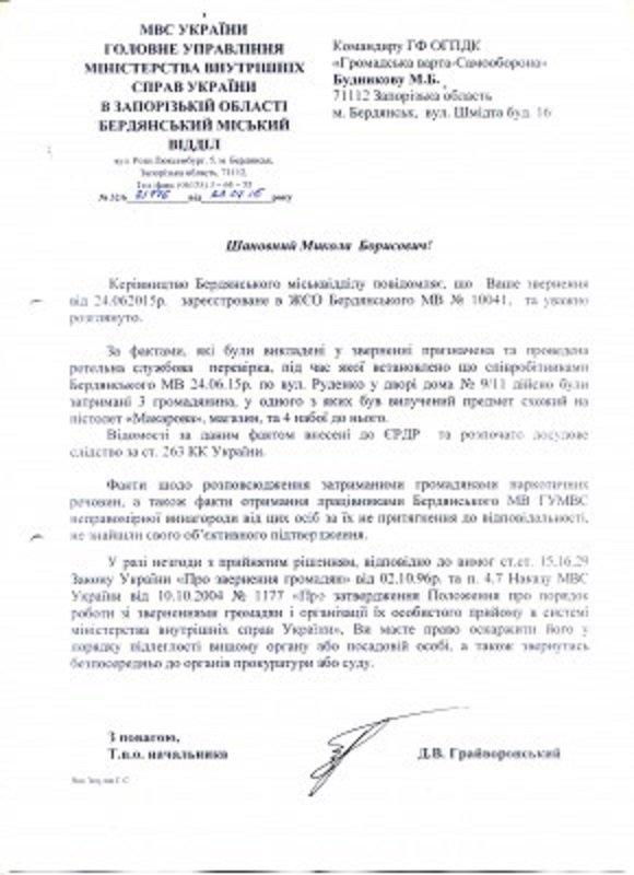 Громадська Варта Самооборона: результаты работы общественной организации Бердянска (фото) - фото 2