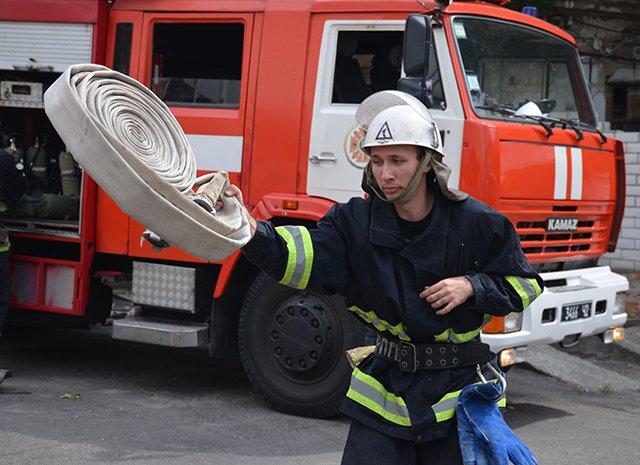 В Николаевском театре «вспыхнул» пожар (ФОТОРЕПОРТАЖ), фото-7