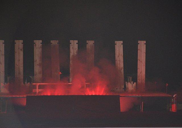 В Николаевском театре «вспыхнул» пожар (ФОТОРЕПОРТАЖ), фото-4