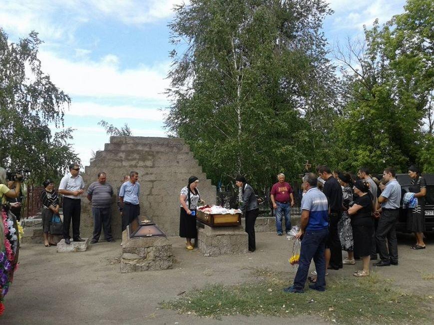 В Сартане похоронили женщину, погибшую в результате обстрела (ФОТО), фото-1
