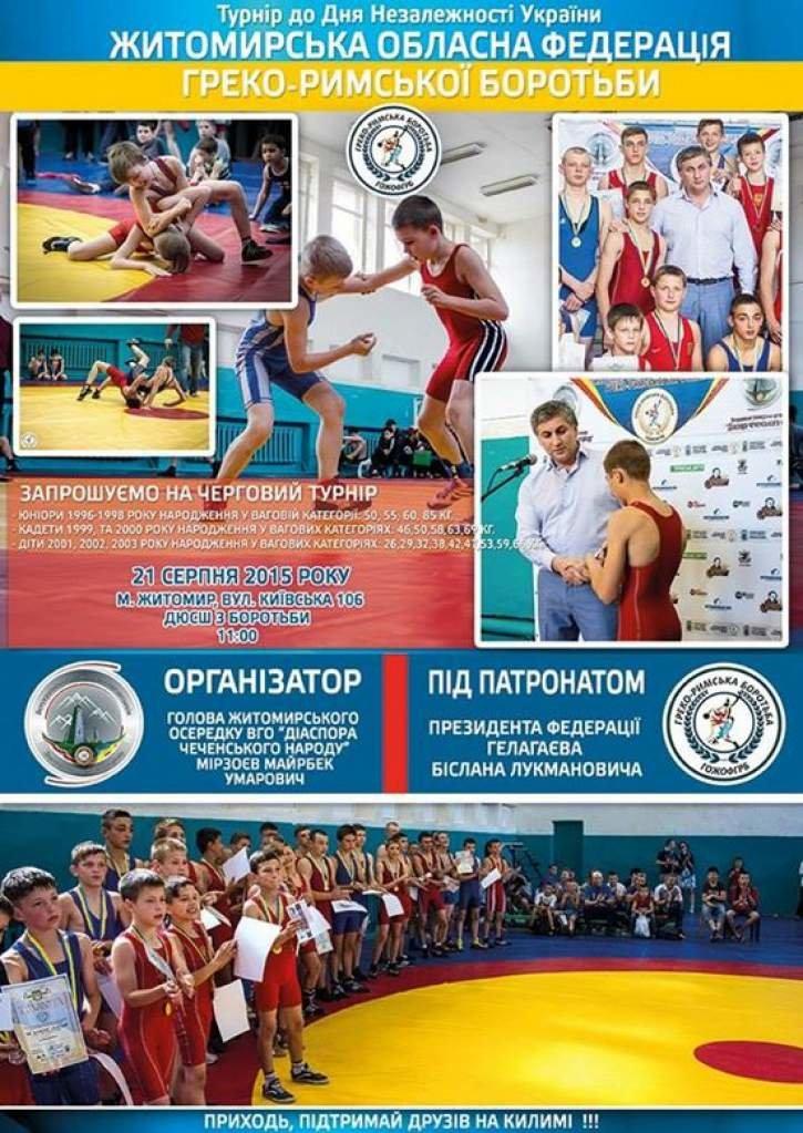 У Житомирі до Дня незалежності Україні відбудуться спортивні заходи, фото-1