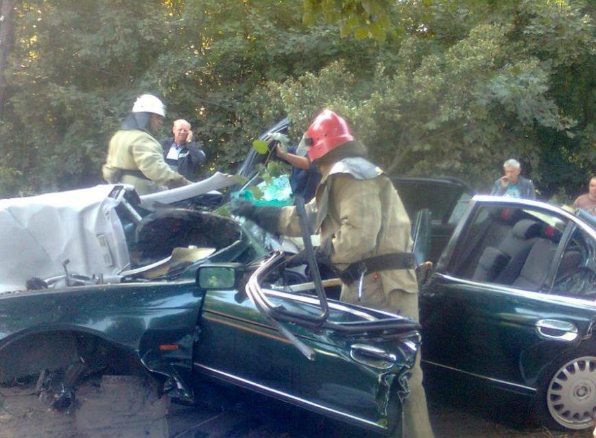 На Полтавщине в ДТП погибли оперуполномоченный из Полтавы и 32-летний гражданин. Ещё двое мужчин получили травмы (ФОТО) (фото) - фото 1