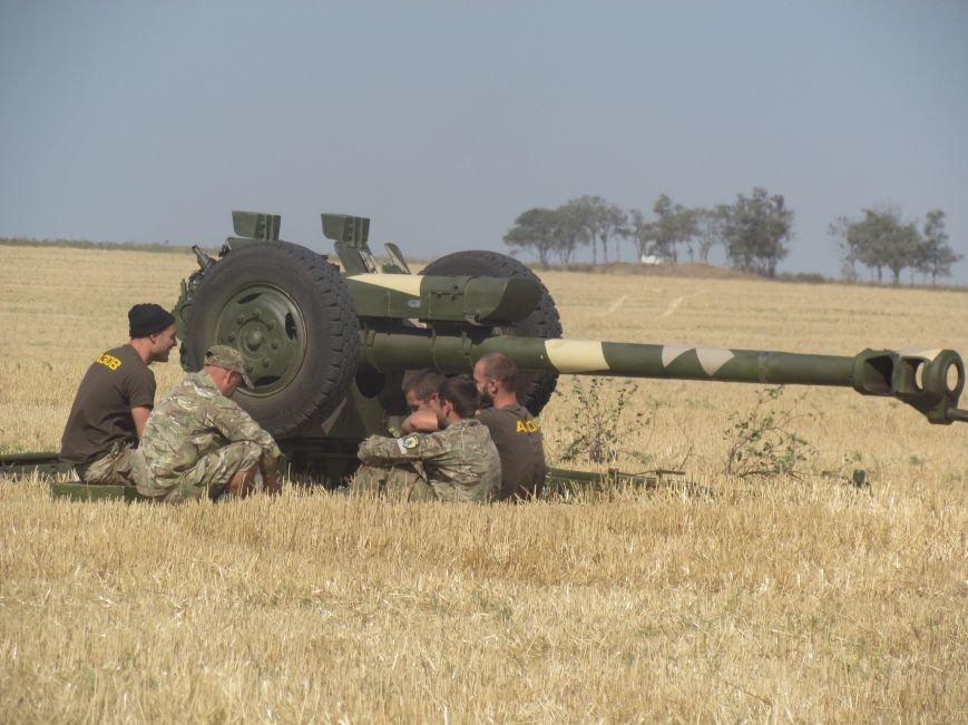 «Азов» и морпехи под Мариуполем уничтожили «противника» (ФОТОРЕПОРТАЖ), фото-4