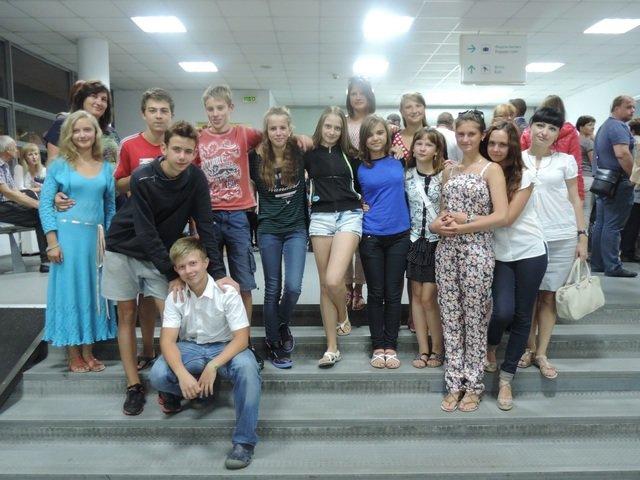В Днепропетровск из Литвы вернулись дети переселенцев (фото) - фото 1