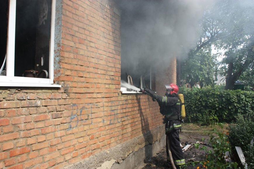 Кіровоградський район: рятувальники ліквідували пожежу у квартирі житлової багатоповерхівки, фото-1