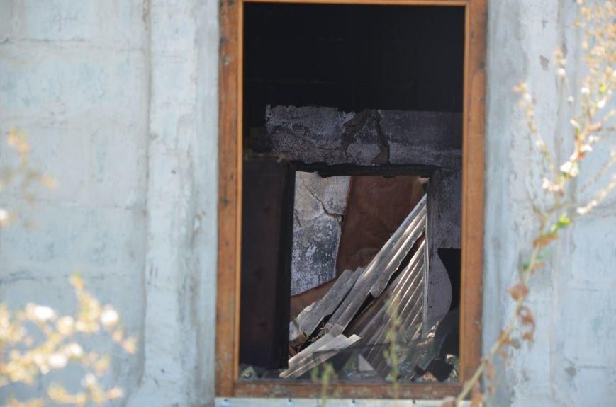 Минобороны: обстрел Сартаны был произведен с востока (ФОТО+ВИДЕО), фото-11