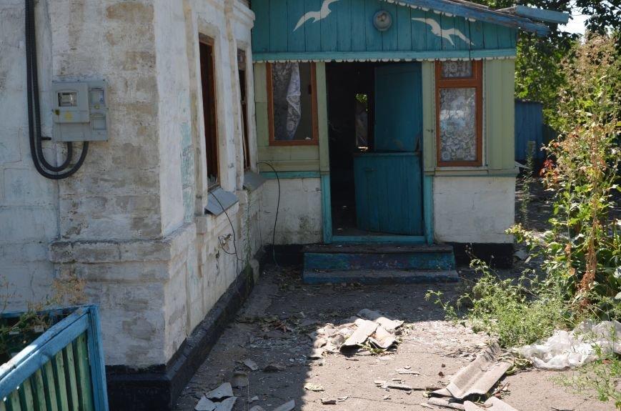 Минобороны: обстрел Сартаны был произведен с востока (ФОТО+ВИДЕО), фото-12