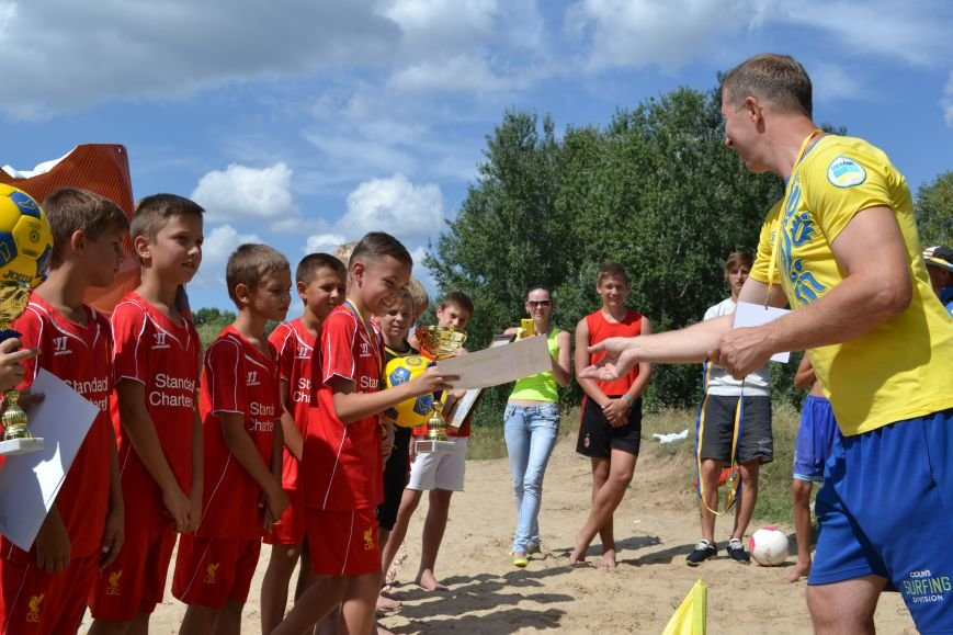 Юные футболисты боролись за Кубок Независимости в Днепродзержинске, фото-9