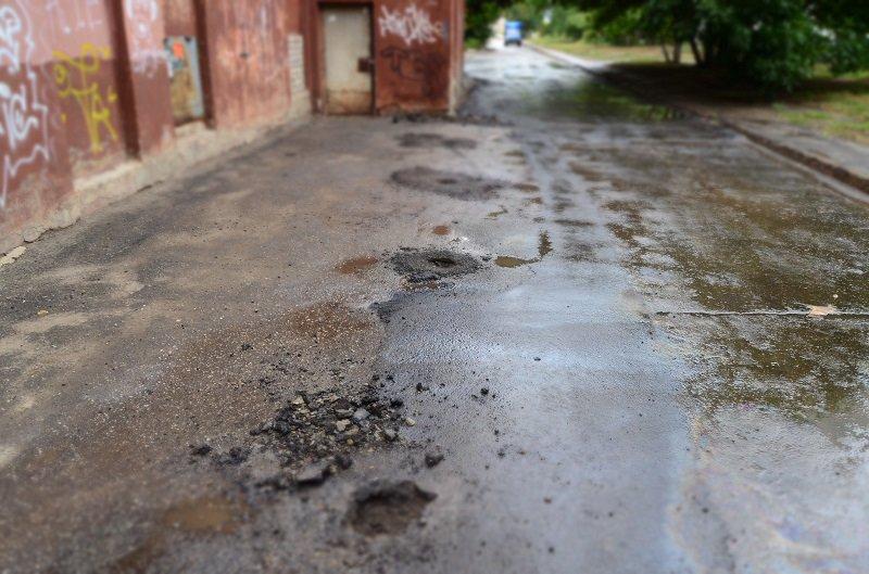 Ульяновцы «сложились» на асфальт, который хотел «разнести» Александр Пинков (фото) - фото 2