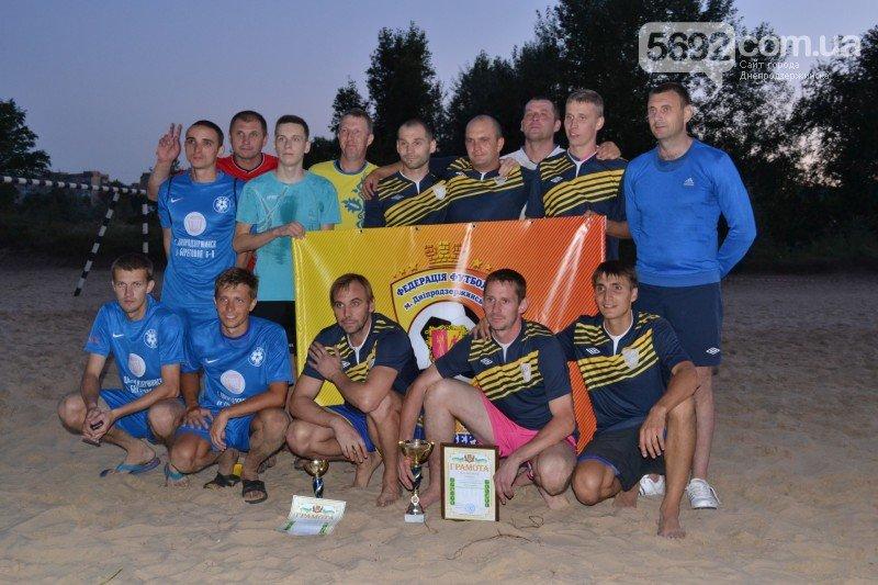 В Днепродзержинске ко Дню независимости провели турнир по пляжному футболу, фото-9