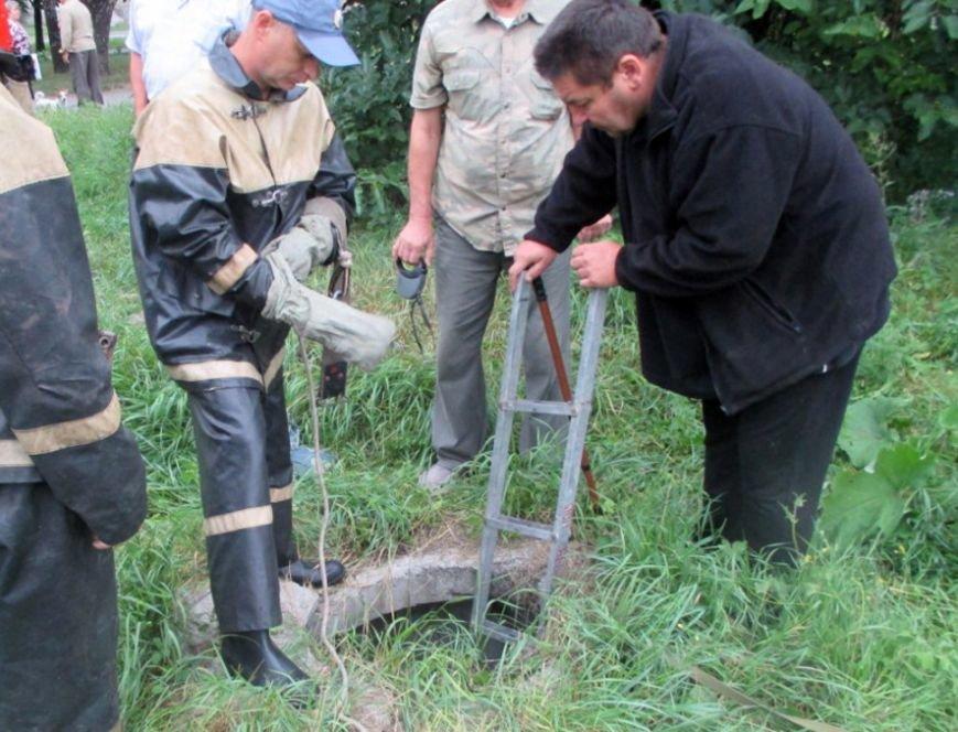 На Полтавщині допомога рятувальників знадобилася чотирилапим. Фото (фото) - фото 1