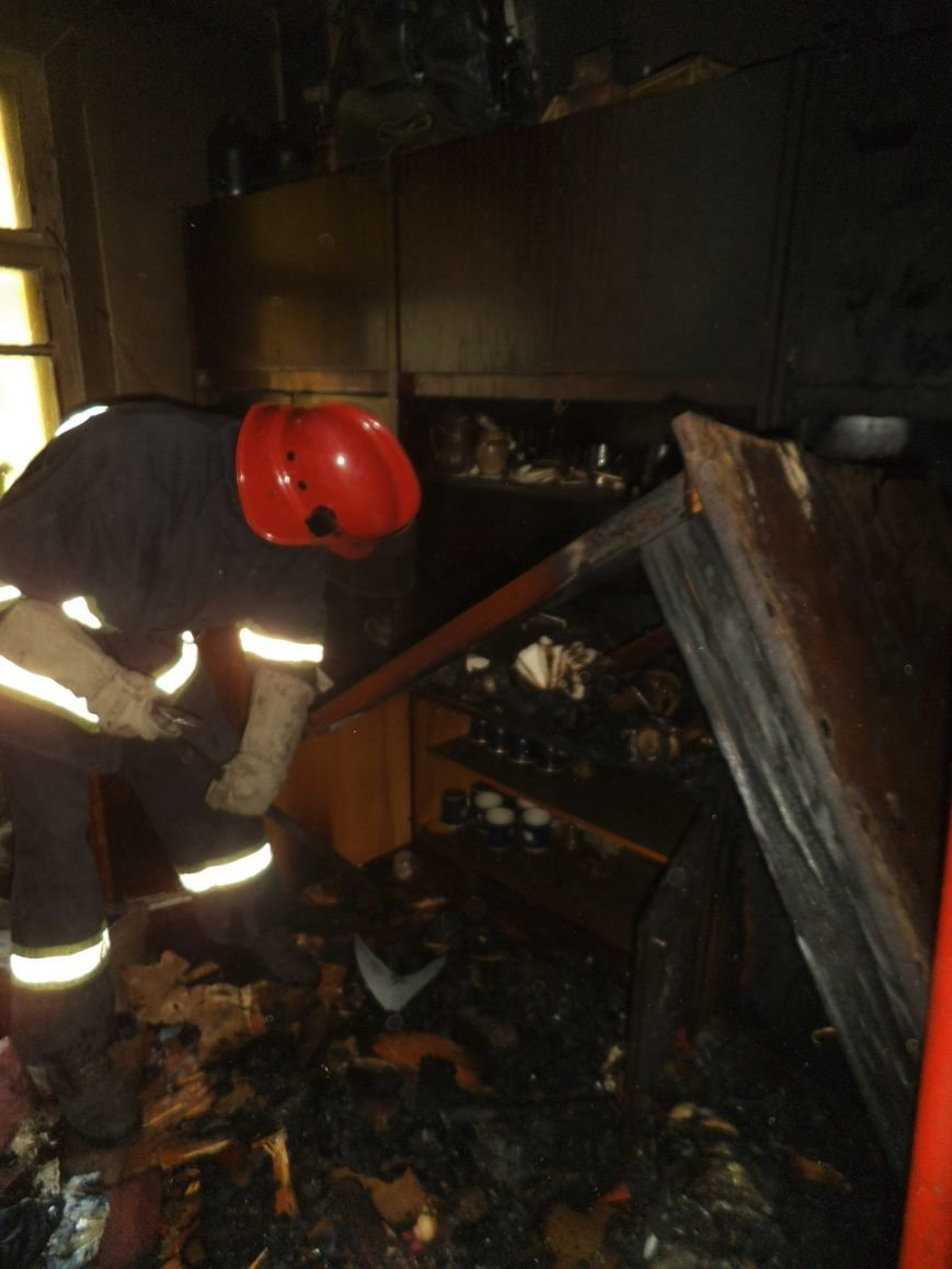 Краматорская пенсионерка погибла при пожаре (фото) - фото 1