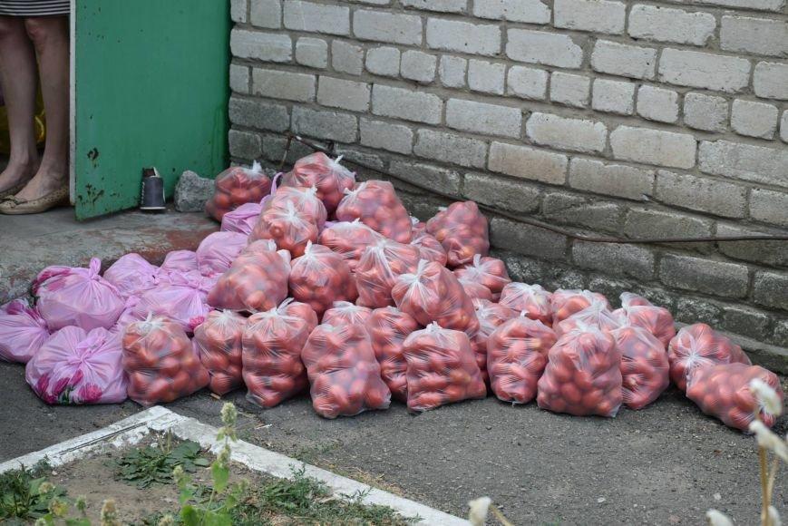 Вынужденным переселенцам, живущим в Николаеве, передали гуманитарную помощь (ФОТОРЕПОРТАЖ), фото-5