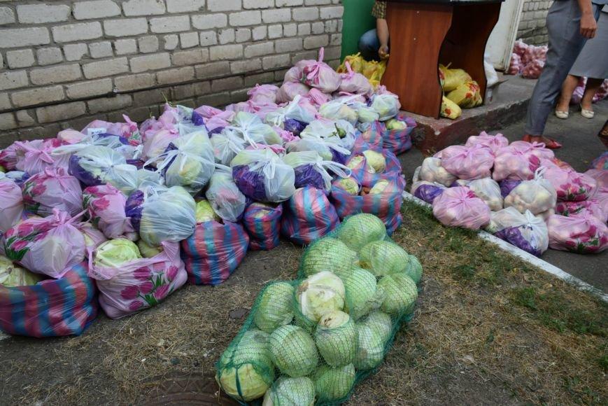 Вынужденным переселенцам, живущим в Николаеве, передали гуманитарную помощь (ФОТОРЕПОРТАЖ), фото-4