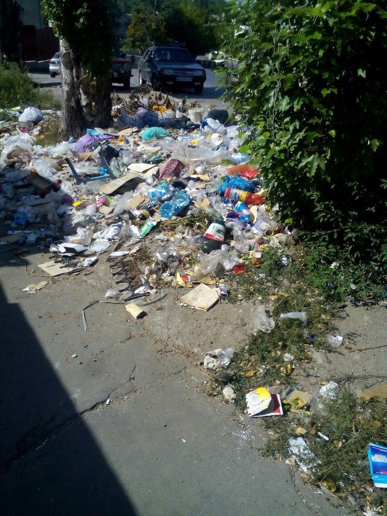 В центре города выросла стихийная свалка (фото) - фото 1