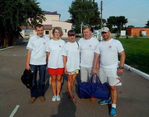 Конотопська міська організація Товариства Червоного Хреста України провела лекцію з військовими (фото) - фото 2