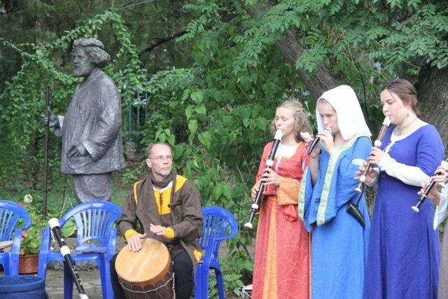 Участники выступления