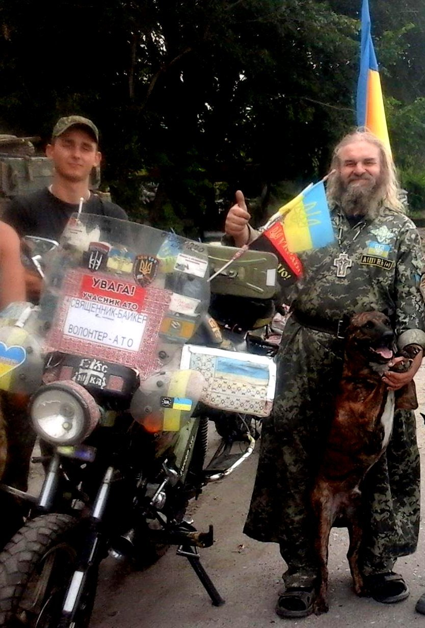 В Мариуполе ограбили священника-байкера (ФОТО), фото-2