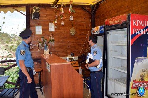 В Сартане милиционеры изъяли из продажи без документов спиртное и усилили охрану порядка (ФОТОРЕПОРТАЖ + ВИДЕО), фото-1