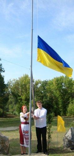 В Павлоградском районе отметили День Государственного Флага Украины (фото) - фото 3